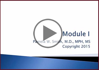 Module 1 Webinar